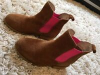 Girls (junior / kids) Joules Chelsea Boots