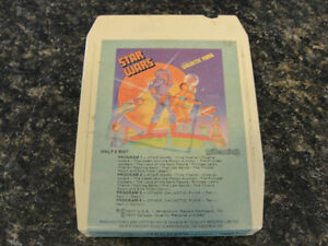 Vintage Star Wars and Other Galactic Funk 8-Track 1977