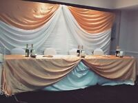Event decorations hire/planner