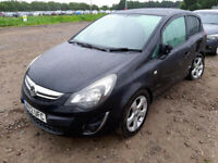 VAUXHALL CORSA D 1.4 2013 BREAKING A14XER ENGINE CODE BREAKING FOR SPARES