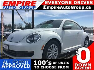 2016 VOLKSWAGEN BEETLE 2 DOOR TRENDLINE * LOW KM * LIKE NEW