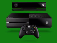 Xbox one with kinect for gaming laptop