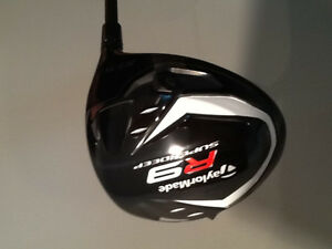 mens taylor made r9 superdeep  tp driver