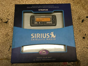 Sirius Satellite Radio, Car Install Kit and Boombox