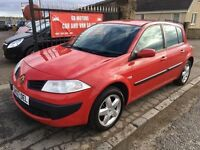 2007 RENAULT MEGANE 1.4 EXTREME, 1 YEAR MOT, NOT ASTRA FOCUS NOTE CEED GOLF