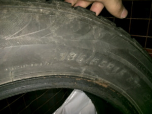 Winter tires 185/65R15