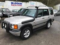 2000 Land Rover Discovery 2 2.5 TD5 GS Station Wagon 5dr (7 Seats)