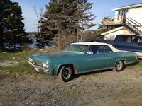 1965 chev impala convertable