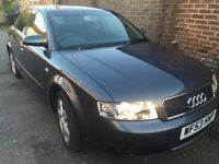 AUDI A4 SALON V6 2.5 TDI LOW MILEAGE,1 OWNER FROM NEW