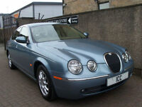 2005 JAGUAR S-TYPE 2.5 V6 4DR EXECUTIVE FULL LEATHER SATNAV 13 JAGUAR STAMPS