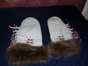 Hand crafted mitts