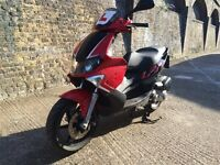 2009 Gilera Runner 125cc REG as 50cc learner legal 125 cc 1 Years MOT.