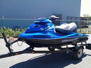SEADOO GTX LIMITED 215HP 40H !! COMME NEUF + REMORQUE !! WOW