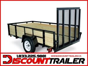 2019 Wooden high side 6X12 Trailer