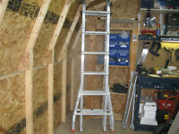 For sale 23 ft Multi-Purpose Aluminum Extension Ladder.