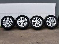 "17"" Vivaro Sport Alloy wheels will fit New shape Vauxhall Vivaro, Renault Trafic, Fiat Talento Etc"
