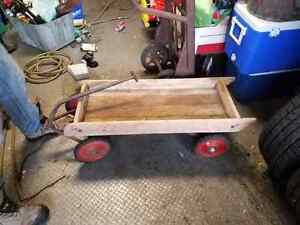 Antique wooden Wagon Cambridge Kitchener Area image 1