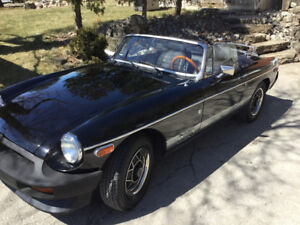 1980 special edition MGB Roadster