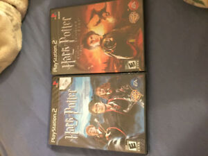 Factory sealed Harry Potter Ps2 games.