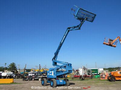 Genie Z6034 60 4wd Diesel Articulating Boom Lift Man Aerial Basket Jib Repair