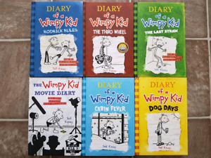 Diary of a wimpy kid buy or sell books in winnipeg kijiji diary of a wimpy kid 6 books solutioingenieria Image collections