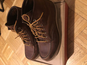 Red Wing Moc Toe Boots (#8880) - size 11D