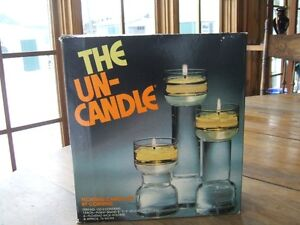 The un-candle candle holder