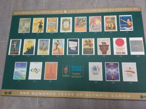 Olympic Games Frameless Picture - Atlanta 1996 Olympics