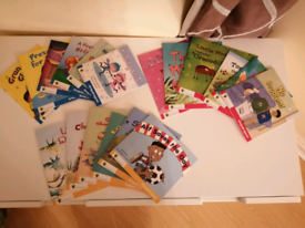 Set of 18 Phonics books level 3 to 5 six of each barely used