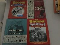 The Broons and Oor Wullie hardback annuals mint condition 16 in total