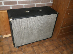 Vintage 2x12 Guitar Cabinet Marsland Speakers