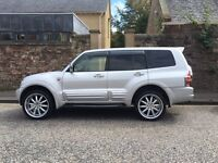 MITSUBISHI SHOGUN PAJERO 3.2 DID EXCEED 4x4 DIESEL AUTOMATIC PX SWAP