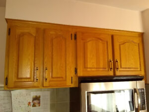 Used kitchen cabinets for sale (250obo)