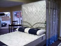 New Serta Queen Mattress with warranty no damages or returns