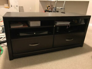 TV CONSOLE MEDIA UNIT STORAGE