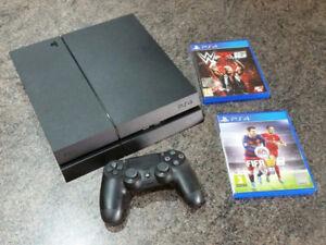 Playstation 4 - 500GB + 2 Free Games