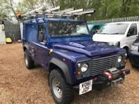 LAND ROVER DEFENDER 110 TD HARD TOP WINCH TD5 PUMA 90 130 Blue Manual Diesel, 20