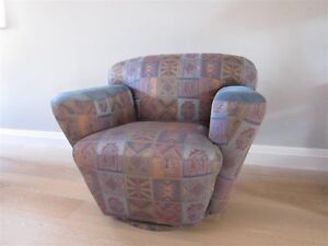 Swivel Armchair