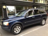 Volvo XC90 for sale. 2004, blue, FSH