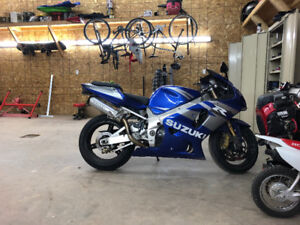 2002 gsxr 1000 trade for street and trail