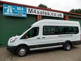 Ford Transit 460 17 Seat Transit. Tacho & PSV, Choice of 2