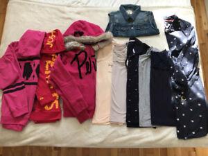 Lot de 10 morceaux vêtements pour femme grandeur small