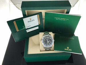 BNIB Rolex GMT-Master II 116710 BLNR