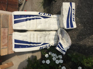 Goalie equipment-various items