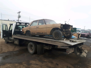 Cash for junk cars and towing Edmonton