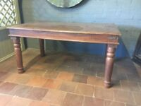 Large Hardwood Table