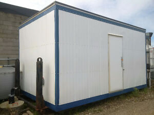 Wellsite Water Shed With Two 1500 Gallon Tanks