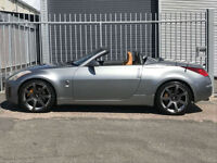 2006 NISSAN 350 Z 305 V6 ROADSTER 300 BHP CONVERTIBLE+12 MONTH WARRANTY INCLUDE