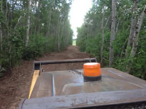 Mulching,selective brush clearing,fencing Strathcona County Edmonton Area image 1