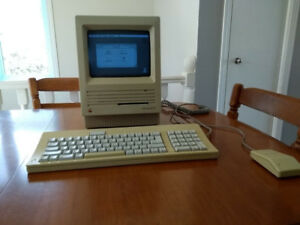 Ordinateur de collection Macintosh SE 1986